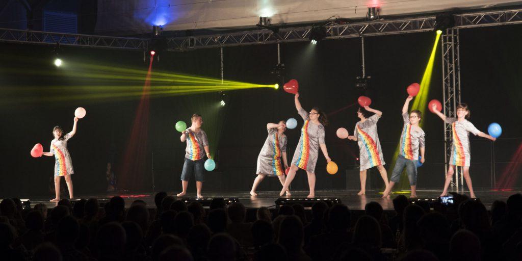 Regenboogdansen